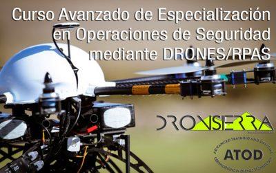 Curso Avanzado de Especialización en Operaciones de Seguridad DRONES / RPAS