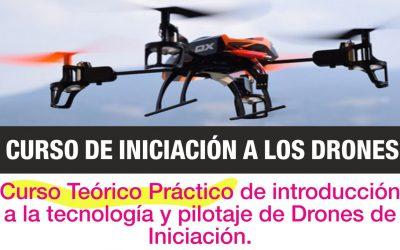 Curso de Iniciación a los DRONES / RPAS