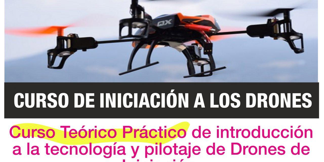 CURSO DE INICIACION A LOS DRONES / RPAS