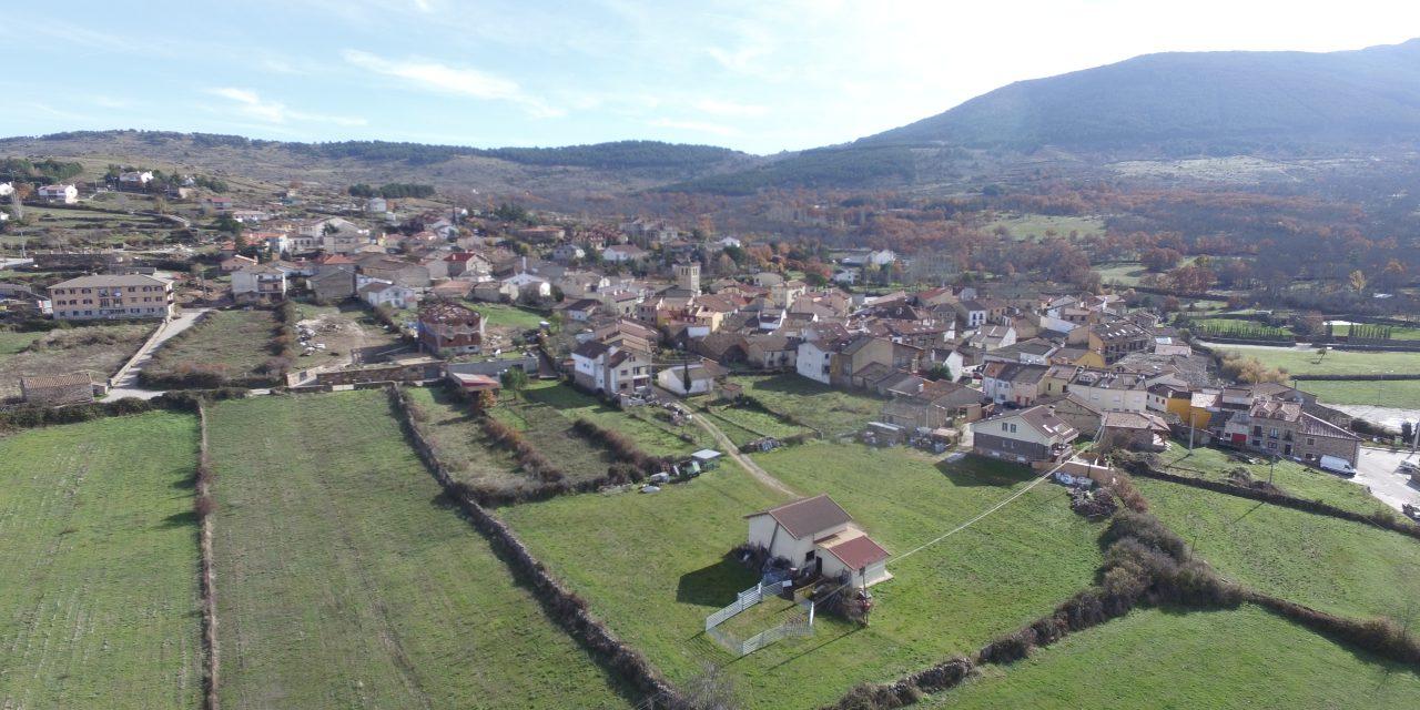 Garganta de los Montes a Vista de Dron