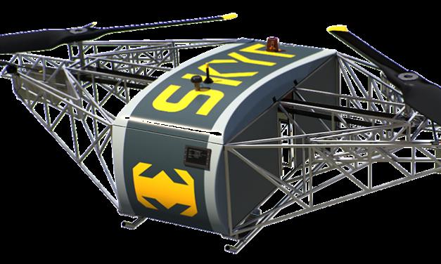 Drone VTOL con 8 horas de autonomía y 350 Kg de carga