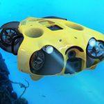IBubble un dron submarino que te sigue y te graba mientras buceas
