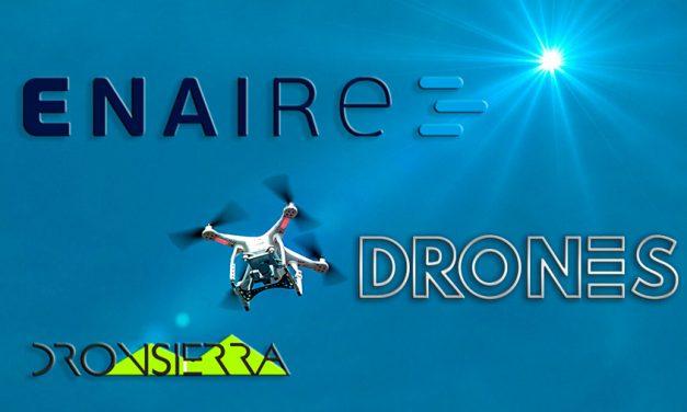 ENAIRE lanza su aplicación web para volar DRONES de forma segura
